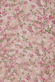 Mandelblüte, Rosé, Linnenlook, Breite 140cm