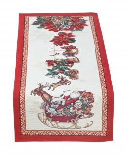 Gobelin Tischläufer Weihnachten 36x100 cm
