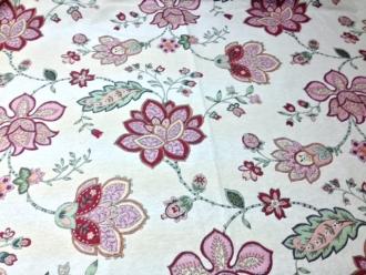 Gobelin mit Blüten, Breite 140 cm
