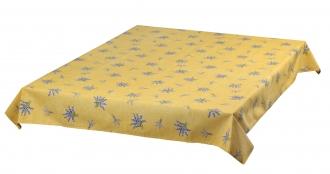 Gelb Lavendel allover pflegeleicht, ca. 120x160 cm