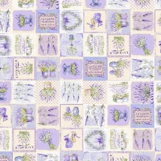 Provencestoff, Lavande, Breite 140 cm, Lavendel
