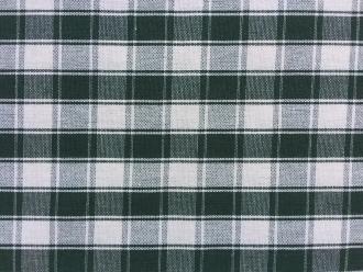 Grün-karierter Stoff, Breite 160 cm, Pflegeleicht