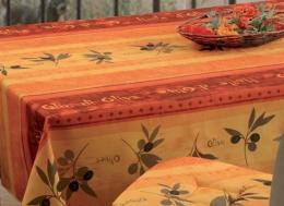 Tischdecke abwischbar Olivo, ca. 150x240 cm, Antitache, Schmutz- und Wasserabweisend