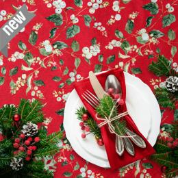 Weihnachtsstoff Advento, Breite 140 cm, Pflegeleicht