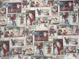 Gobelin Weihnachten Christmas Greetings, Nostalgie, Breite 140cm