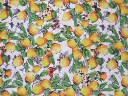 Citrus allover, Breite 160 cm, abwischbar, pflegeleicht