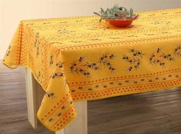 Tischdecke abwischbar Olivette, ca. 150x300 cm, Antitache, Schmutz- und Wasserabweisend