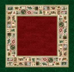 Coupon Tischdecke Nadala Weihnachten 160x160 cm, Baumwolle