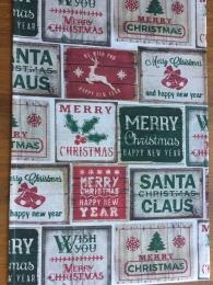 Tischläufer Weihnachten Santa Claus
