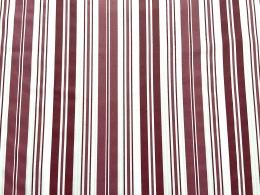 Herrlicher Toile de Jouy Streifen rot, Baumwolle, auch für Bettwäsche, Breite 280cm