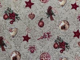 Herrlicher Gobelin Weihnachten BAROCK, Elegant und Romantisch, Breite 140 cm