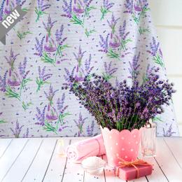 Provencestoff Fragance, Lavendel allover, Breite 140 cm, Pflegeleicht