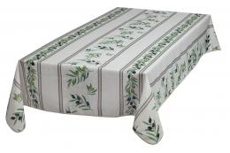 Provence-Tischdecke abwaschbar Natur Oliven 240x140 cm