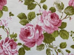 Sonderverkauf Rosenstoff Prinzess Rose, Breite 95 cm