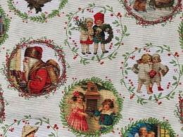 Shabby Weihnachts-Engelchen, Breite 140cm, Pflegeleicht