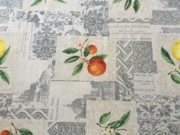 Tischdecke ca. 200x140 cm, Mediterranée, pflegeleicht abwischbar