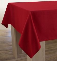 Uni-Tischdecke, schmutz- und wasserabweisend, Leineneffekt, 200x150 cm