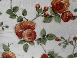 Tischdecke 200x140cm  Rosen mediterran, abwischbar, Panamaqualität