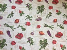 Panama Gemüse, 160 cm Breite