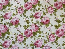 Rosenstoff Prinzess-Rose, Breite 280 cm, Pflegeleicht