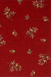 Tischdecke, ca. 120x160 cm, cotto Oliven Allover, Baumwolle