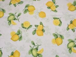 Panama Zitrone abwaschbar 160 cm