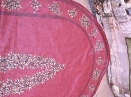 SSV 15% RabatOval Maussane Cotto 250x160 cm, besch. Baumwolle