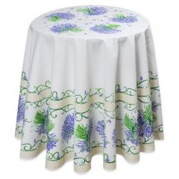 Natur Lavendel, rund ca. 175 cm